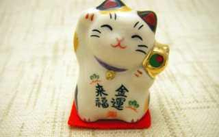 Картина с котом по фэн-шуй