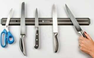 Как должны висеть ножи на магните по фэн шуй