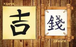 Иероглифы в фен шуй: значение и особенности