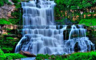 Водопад в саду по фэн шуй