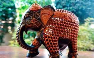 Слон в интерьере по фэн шуй