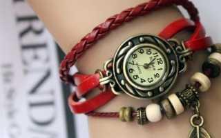 Выбрать ручные женские часы по фэн шуй