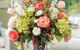 Можно ли дома держать искусственные цветы в вазе по фэн шуй