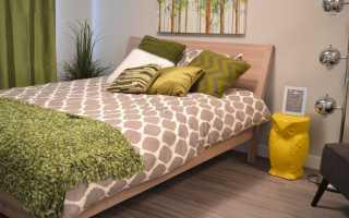 Размер кровати по фэн шуй