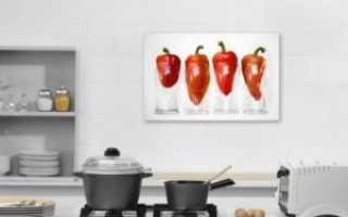 Какую картину повесить на кухне по фэн шуй