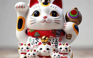 Что символизирует кот по фэн-шуй